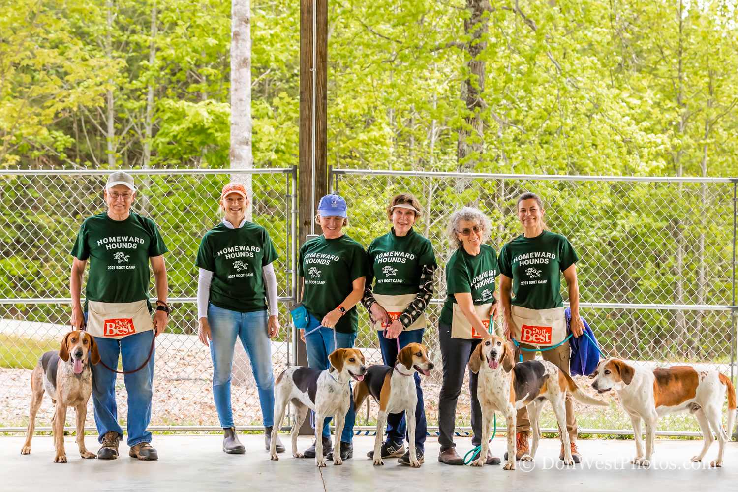 Tryon Hounds & Foothills Humane Society Announce Partnership to Rehome Retired Foxhounds
