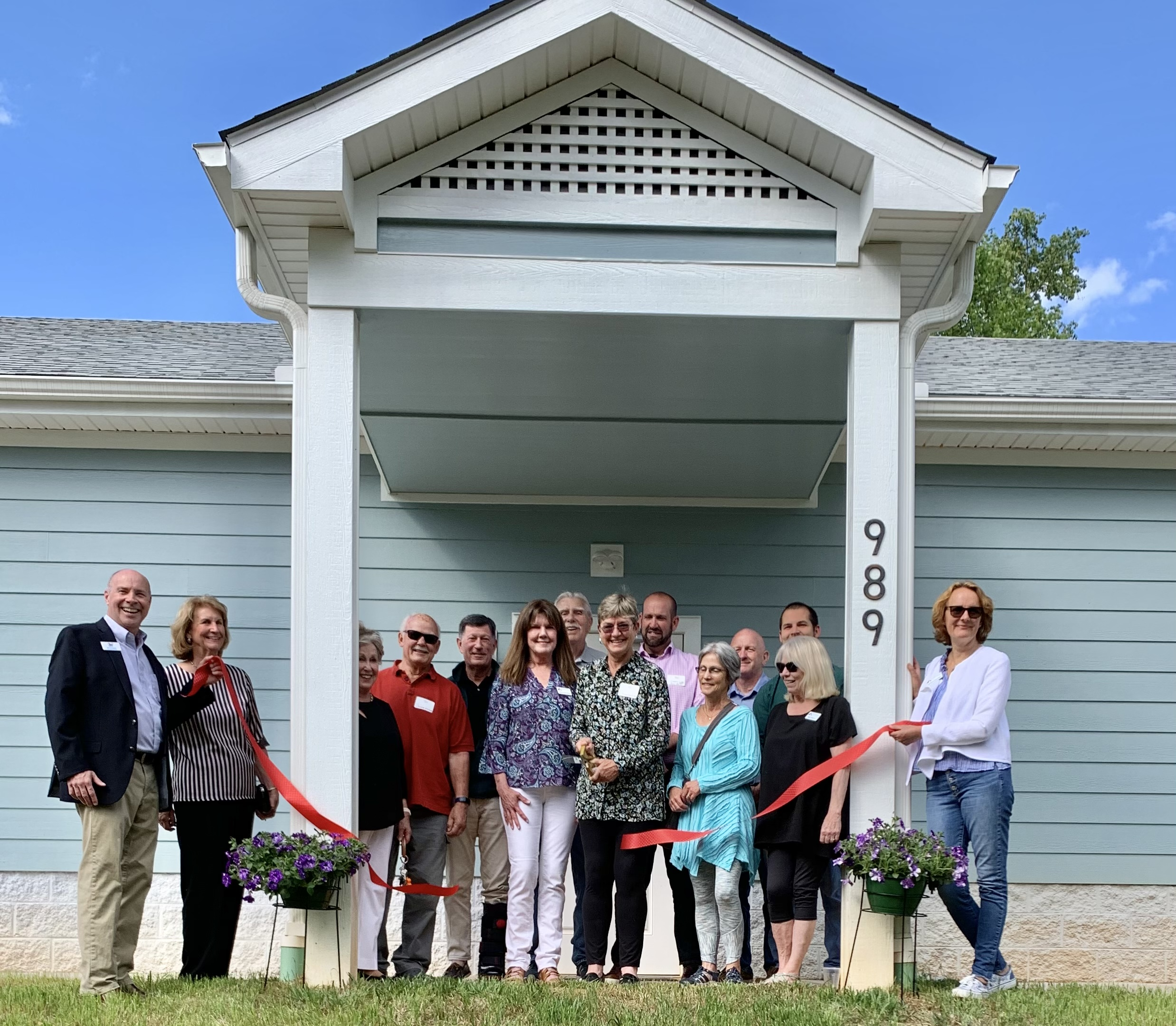 Foothills Humane Society Celebrates the Completion of New Digs for Dogs Building with Ribbon Cutting Ceremony
