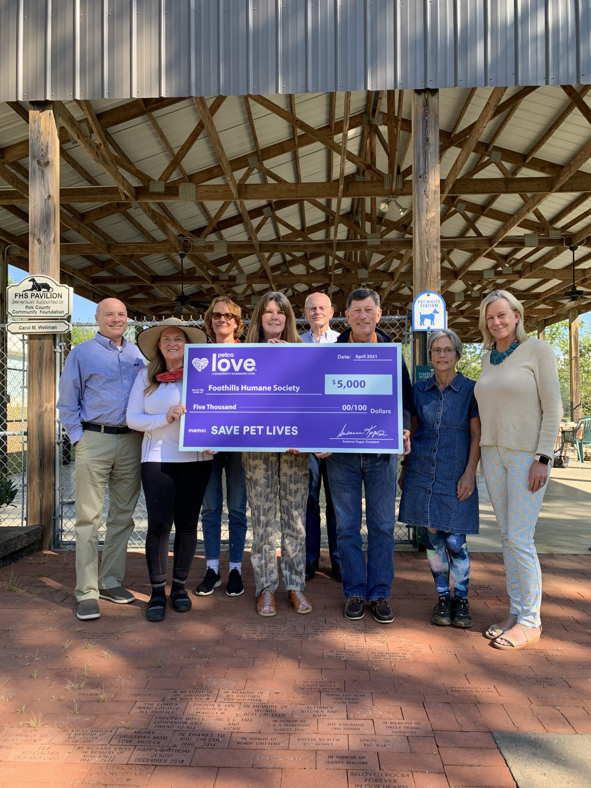 Newly Named Petco Love Invests in Lifesaving Work of Foothills Humane Society